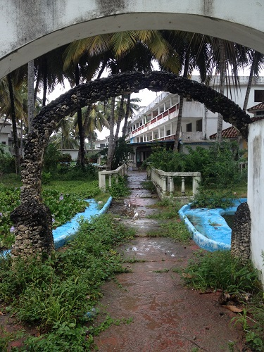 An abandoned resort in Cabarete